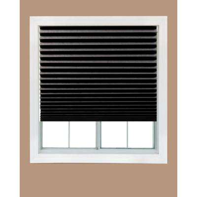 temporary blinds paper black out window shade (4-pack) ODNQDCE
