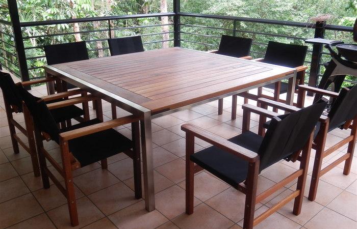 timber outdoor furniture ... modern patio and furniture medium size timber outdoor table and chairs WSHFLGP