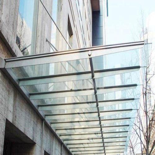 toughened glass canopy LZIZOOH