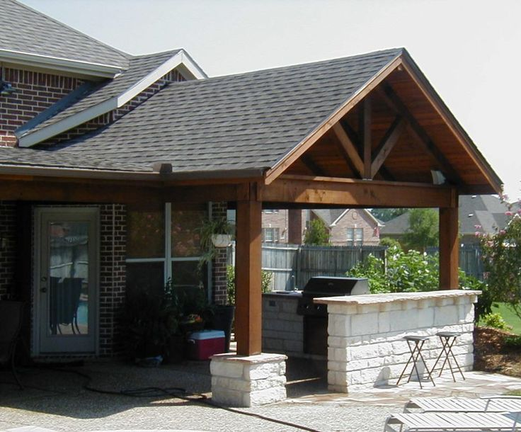 traditional covered patio ideas IMKHPSF