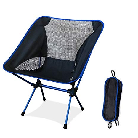 ultralight folding camping chairs, portable compact breathable outdoor  chairs with a PSGWJFM