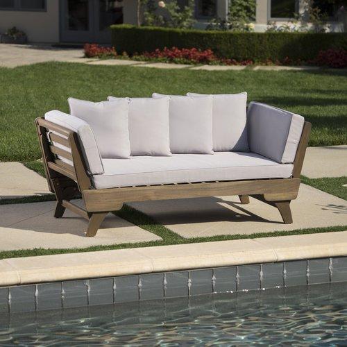 union rustic ellanti patio daybed with cushions EZGOYUD