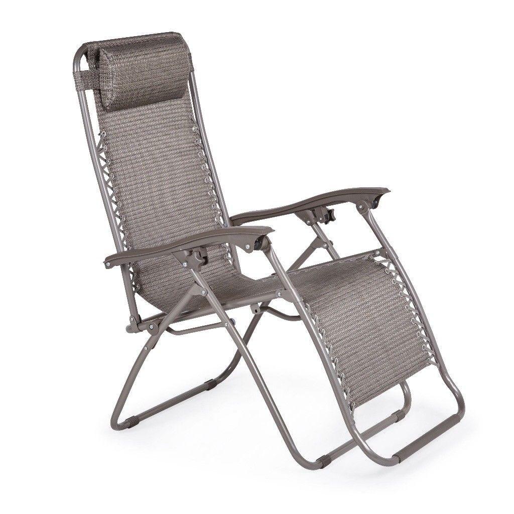 unopened new shrewsbury gravity chair garden recliners x 2 QNWQWGS