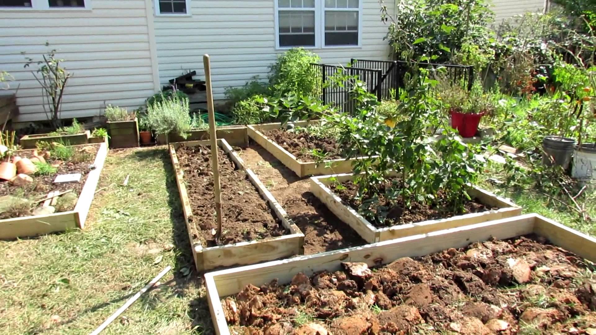 vegetable garden design designing a raised bed vegetable garden: a fall makeover! - youtube DMTHTLZ