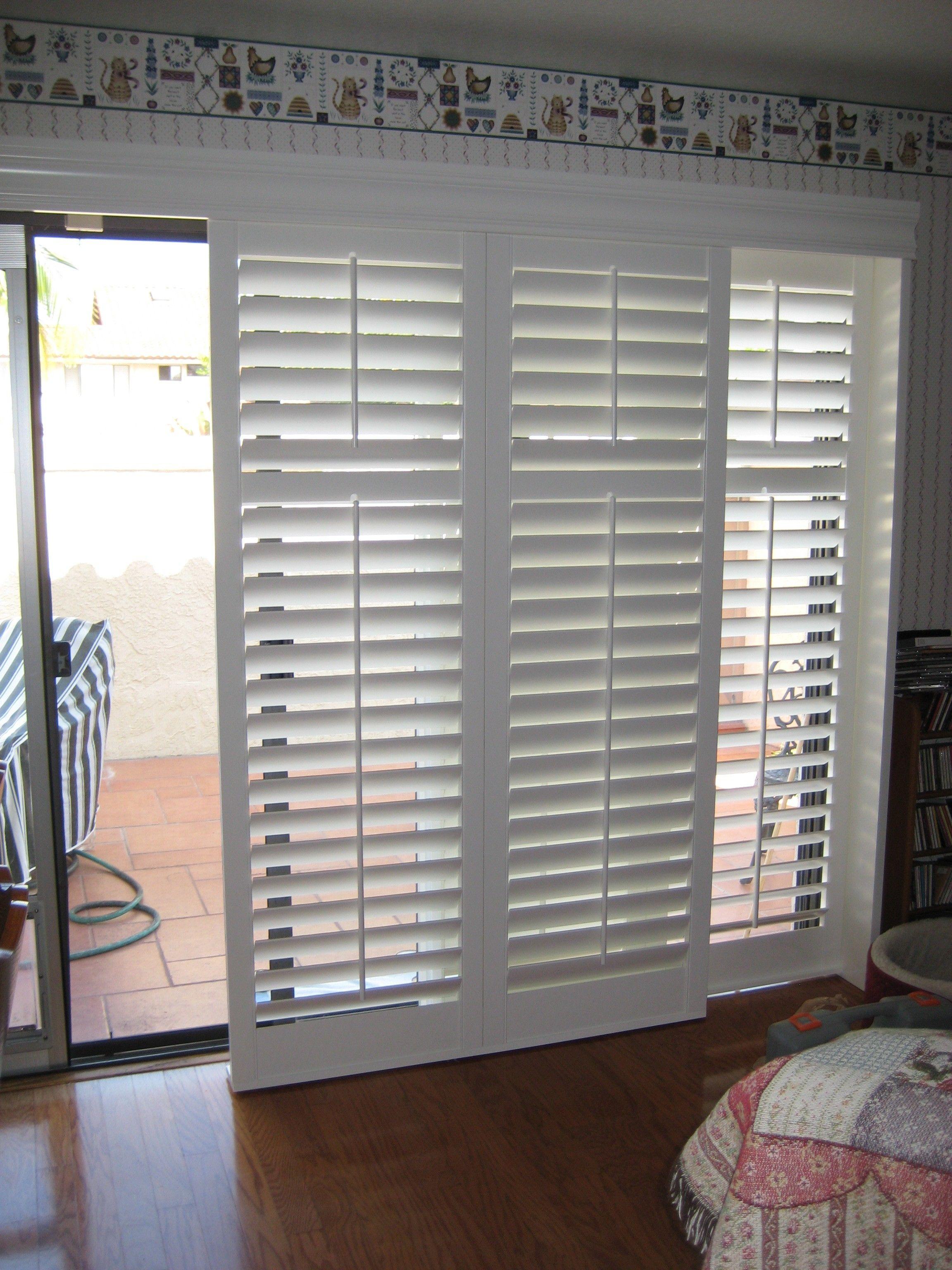 venetian blinds for patio doors HCQECOA