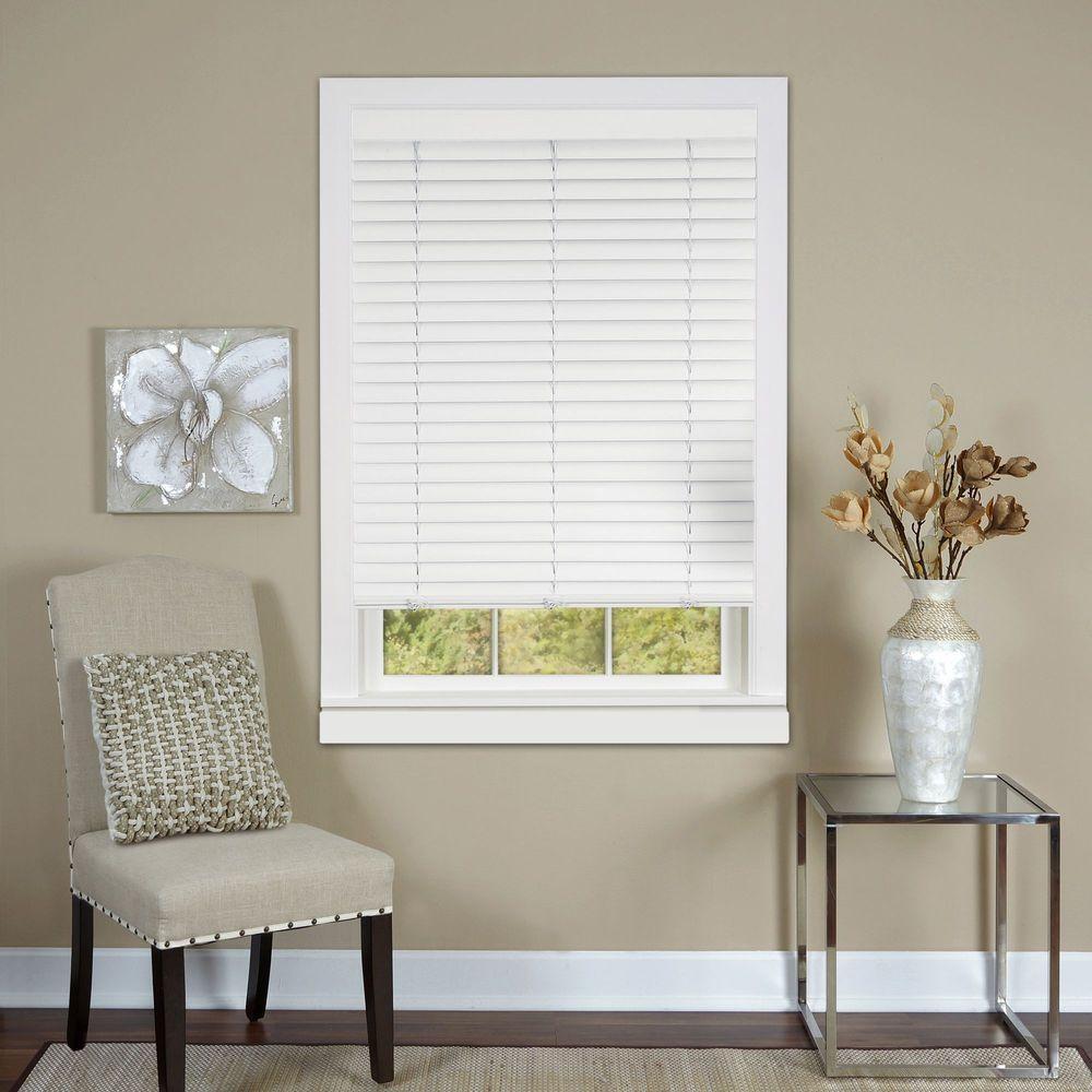 venetian blinds this review is from:white cordless 2 in. vinyl luna venetian blind - FWRVKWA