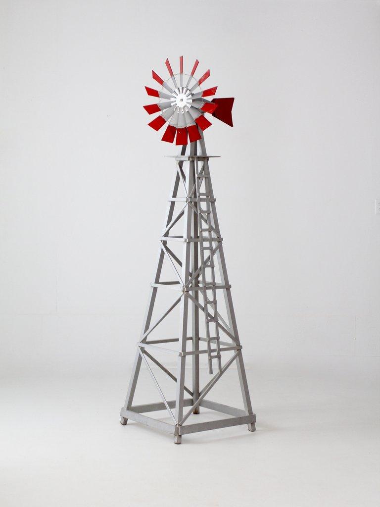 vintage garden windmill NHRCBOZ