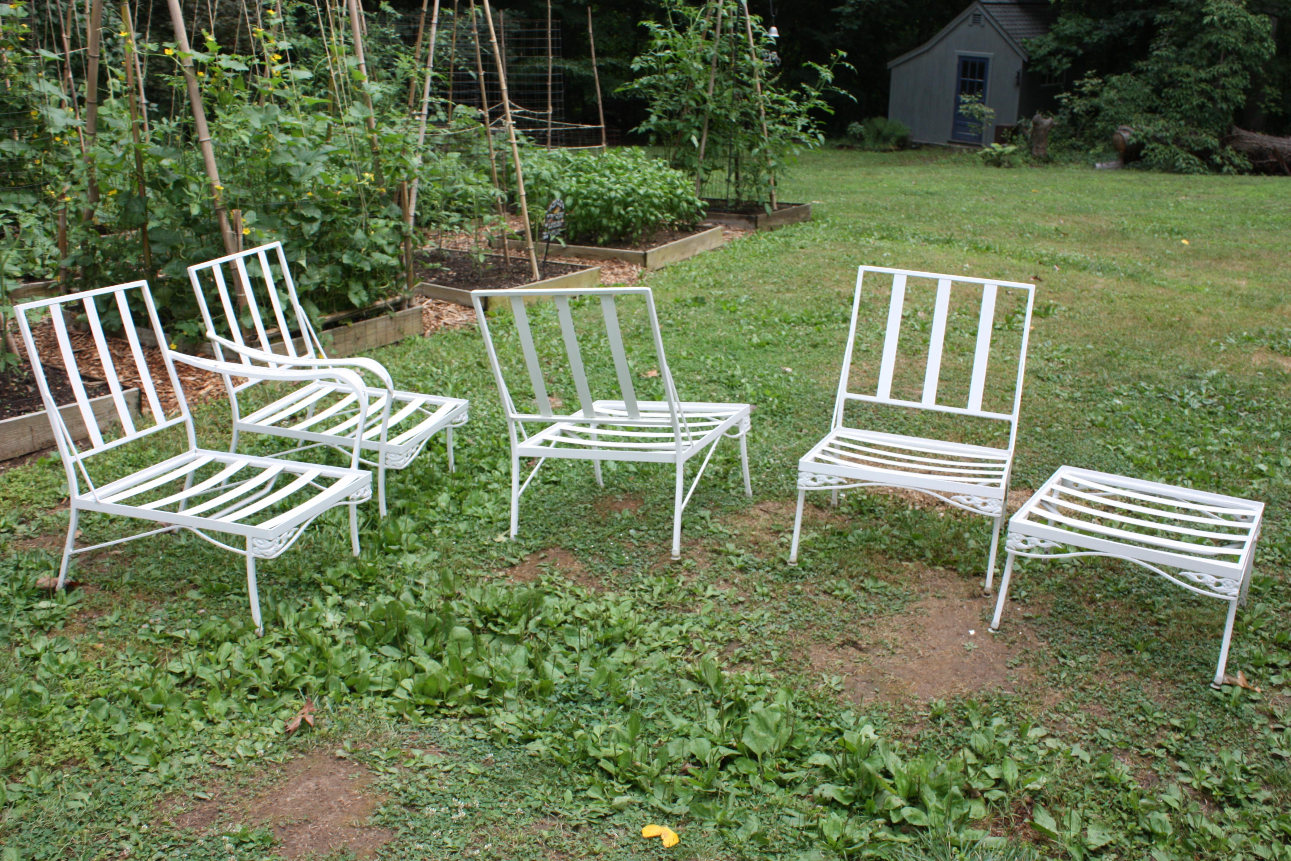 vintage patio furniture here ... LWJMNRE