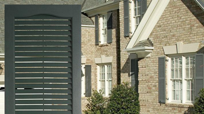 vinyl shutters louvered shutters IWHSAQU