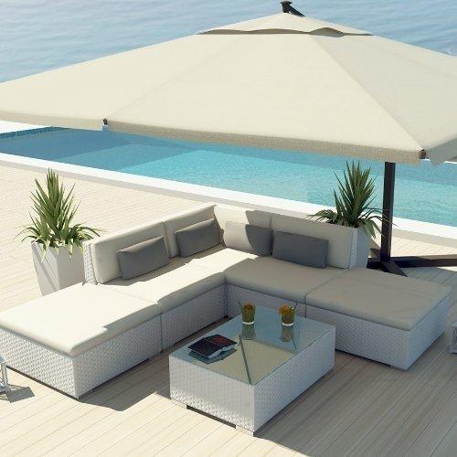 white patio furniture uduka outdoor sectional patio furniture white wicker sofa set porto 6 off XYTSQUW