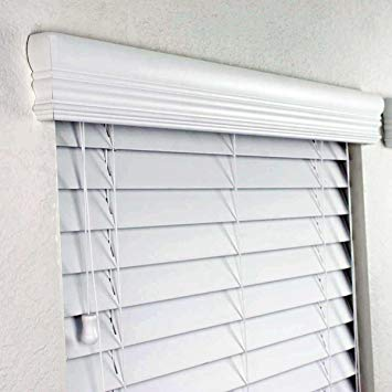 white wood blinds 2 faux wood blinds 60 x 60 inches in white with premium SJFOIIE