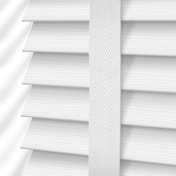 Decoration Ideas Using White Wood Blinds