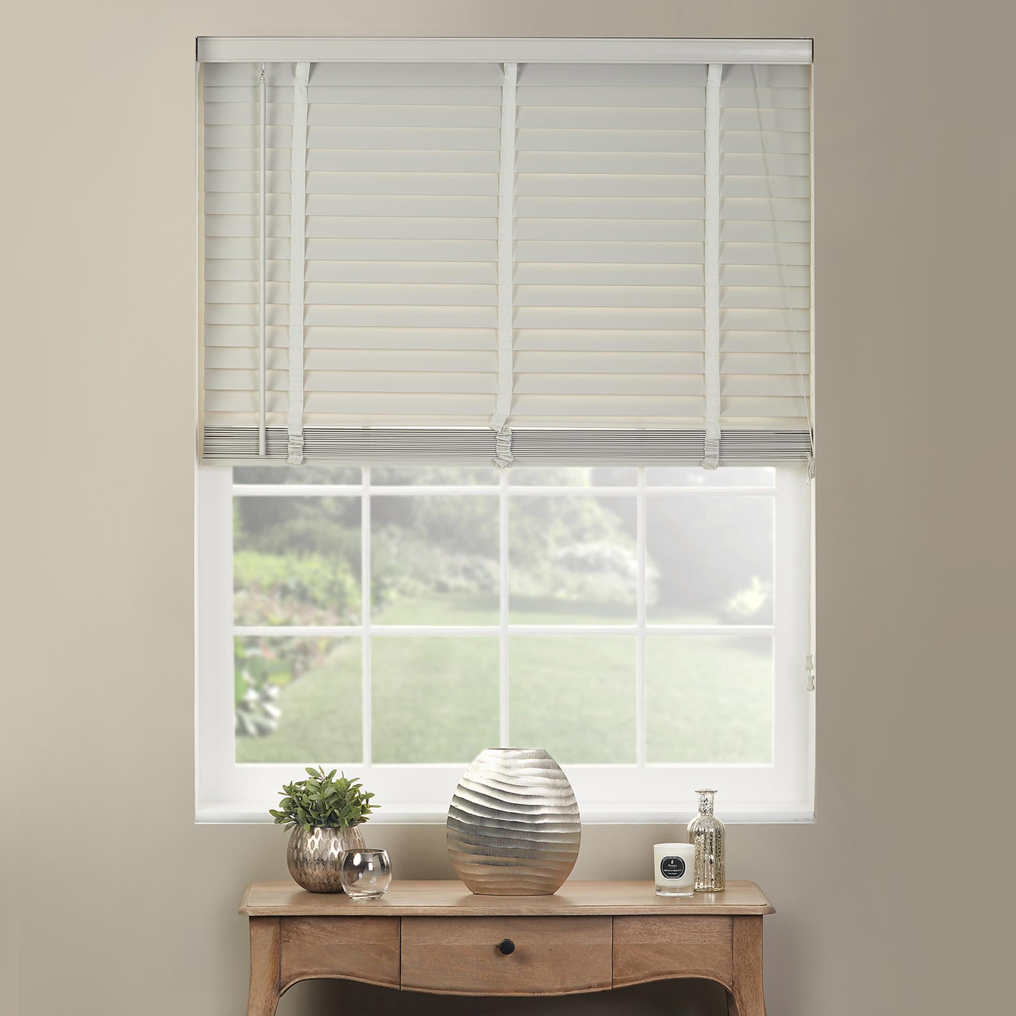 white wooden blinds dove grey wooden venetian blind 50mm slats XLWGXSU