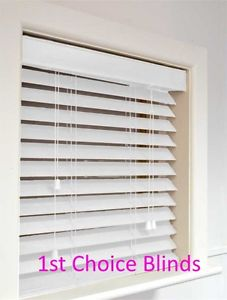 white wooden blinds image is loading superior-made-to-measure-wooden-venetian-blinds-white- EFMURRF