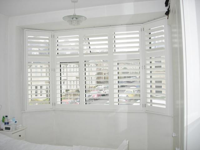 white wooden blinds to add attraction to your home - decorifusta THPFLUL