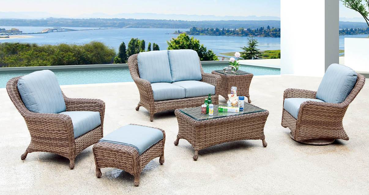 wicker furniture: make the switch - palm casual VCKWJJV