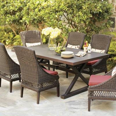 Make your Garden Comfortable with wicker garden furniture
