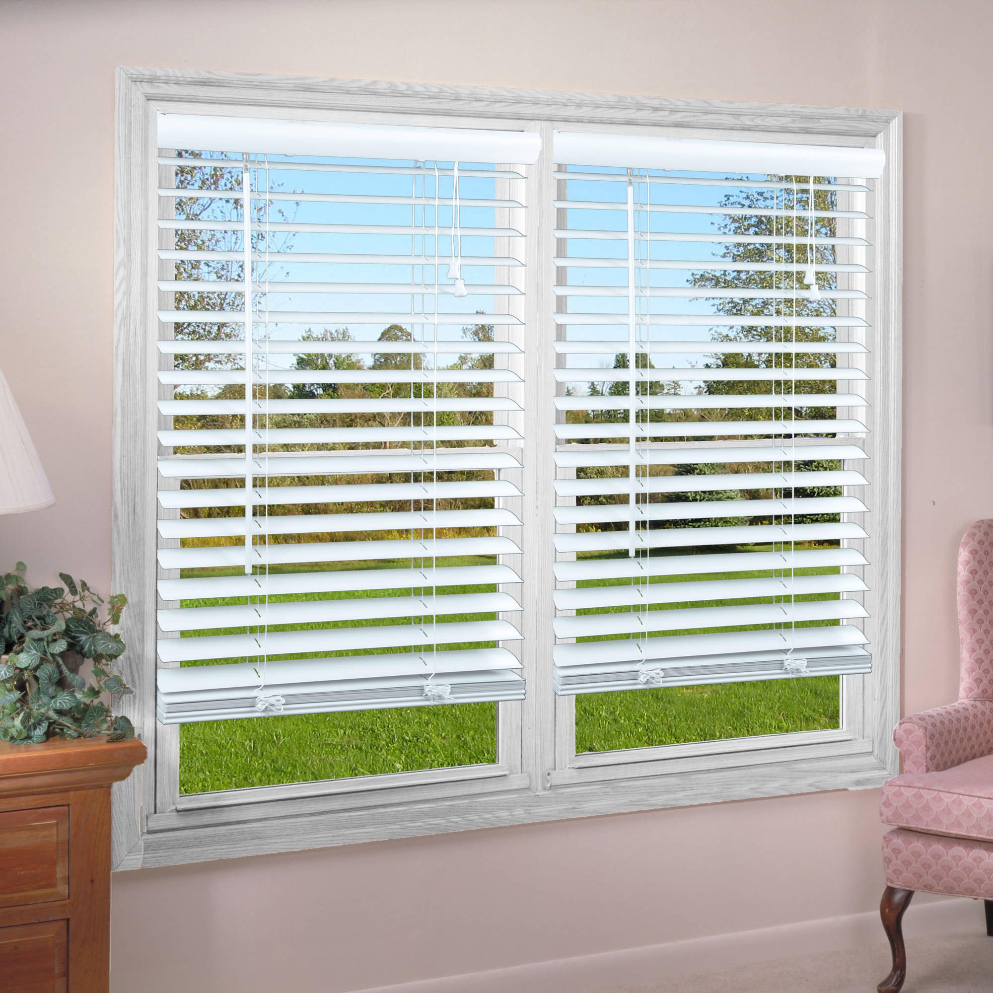window blind easy install magnetic window blinds 25x68 inch - walmart.com UOHQJBA