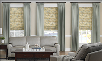 window treatment living room WAORXDF