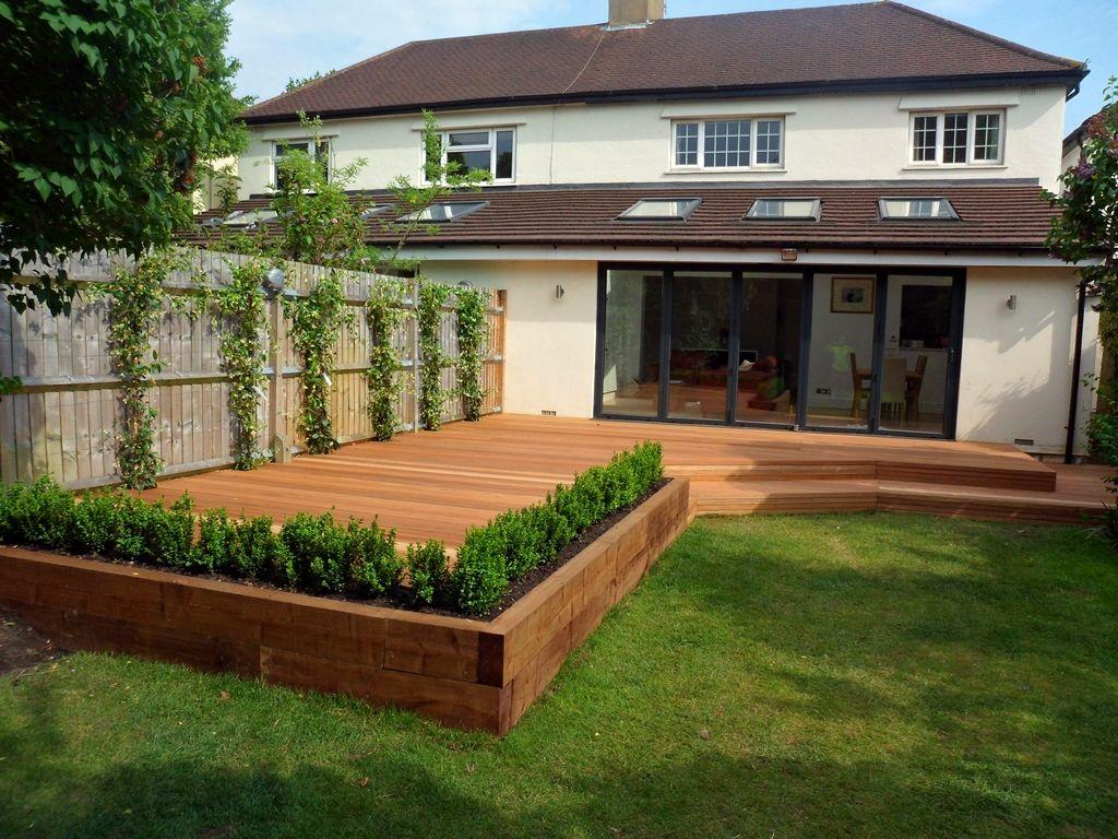 wonderful garden decking ideas with best decking designs for your  decorating LSJLSFU