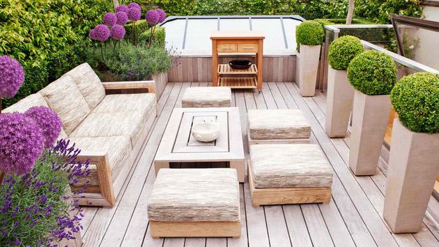 wood outdoor furniture 20 wonderful outdoor garden furniture ideas in wood   home design lover WVTPUXB