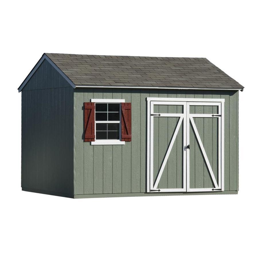 wood storage sheds heartland (common: 12-ft x 10-ft; interior dimensions: 12 FJDAFDT