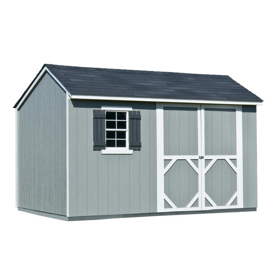 wood storage sheds heartland (common: 12-ft x 8-ft; interior dimensions: 11.71 XCIXSLC