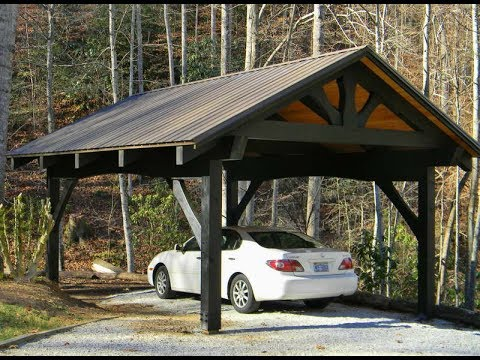 Wooden carports for Protecting your Car