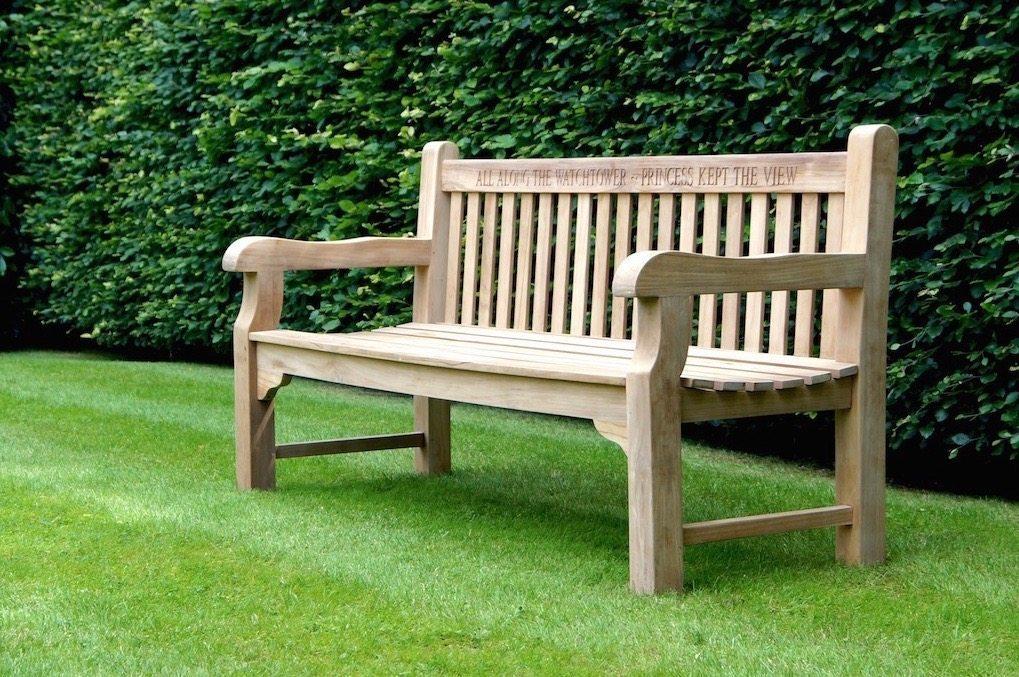 wooden garden benches memorial wooden garden bench wanldbf ZXQRWYL