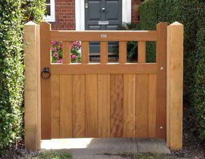 wooden garden gates u2026 QWNUTXO