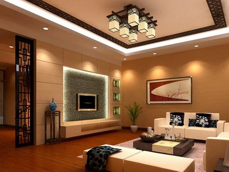 wooden living room interior design BRTJPXS