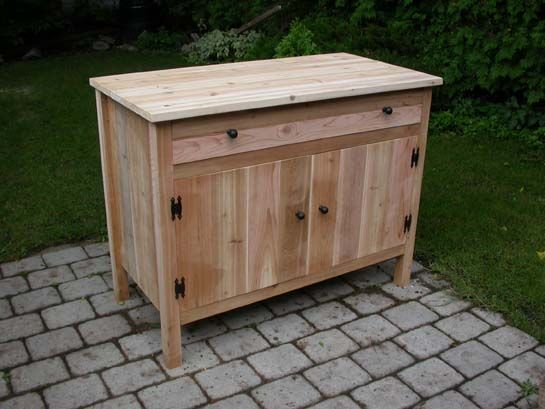 wooden outdoor cabinet for patio | outdoor cabinets ILFRDCM