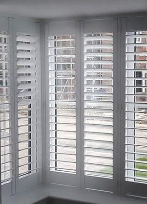 wooden shutter blinds box bay COTNPTJ