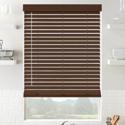 wooden window blinds gunstock 6698 LMZMWIV