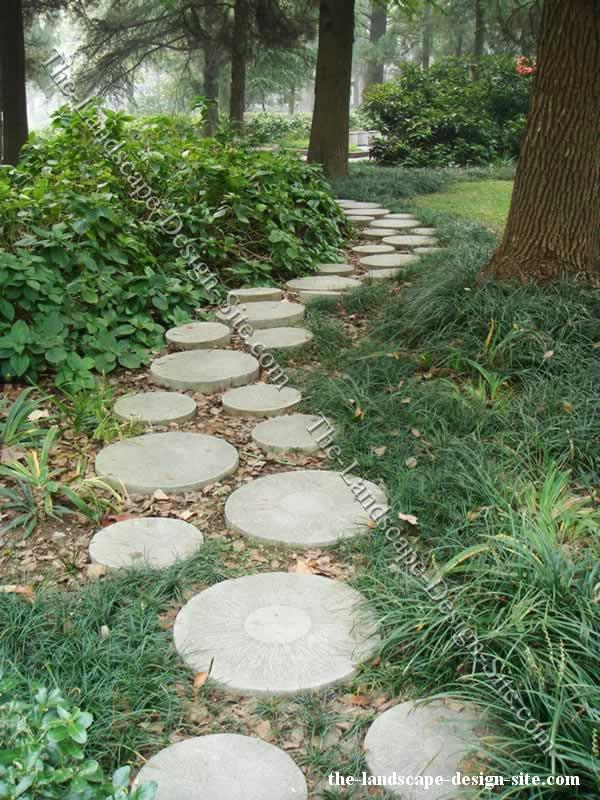 woodland garden path ideas EOYZEMN