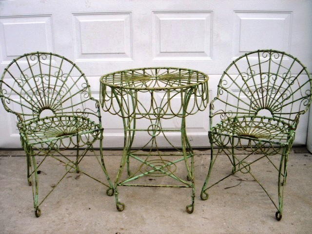 wrought iron furniture BNGHGGY