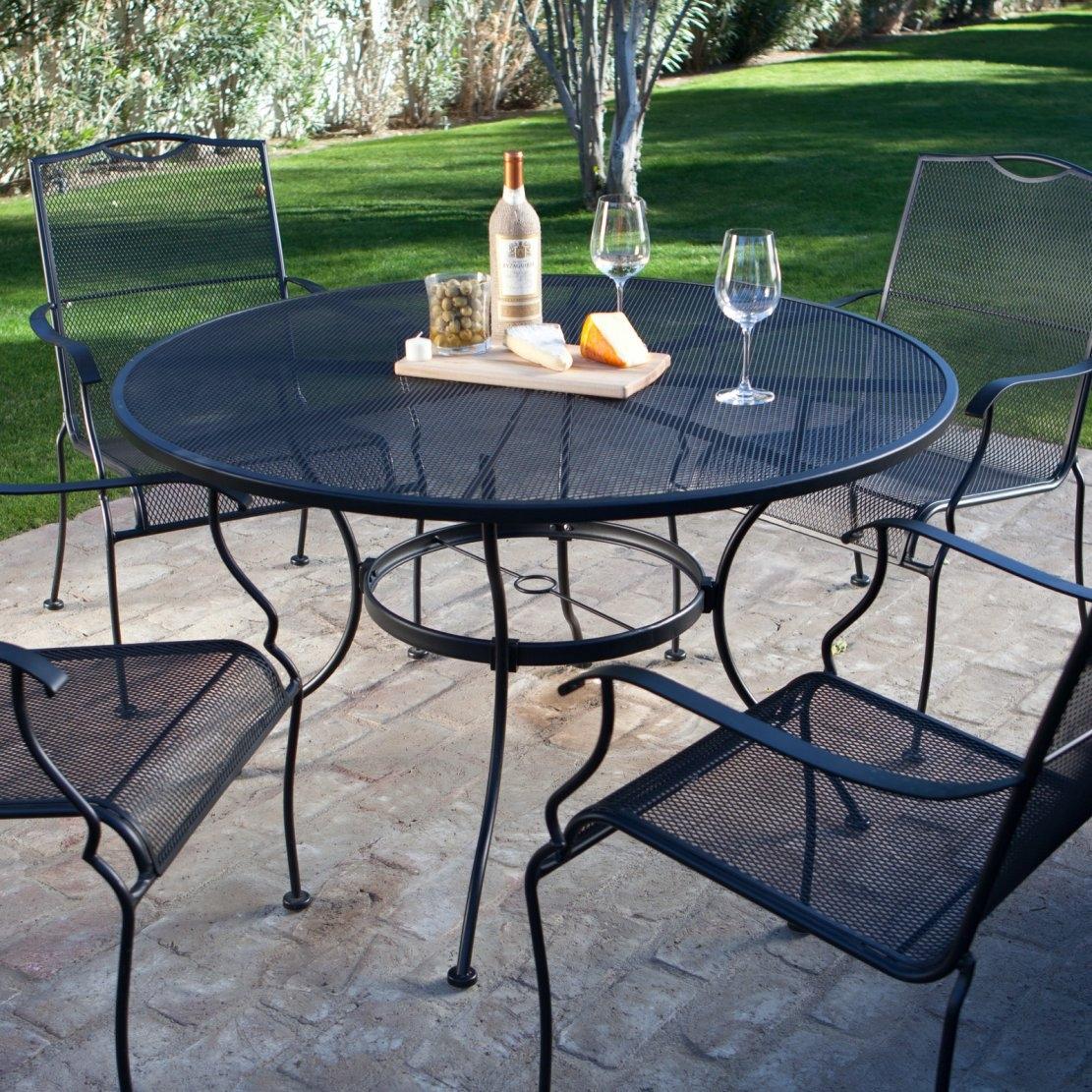 Get a Quality Wrought Iron patio set