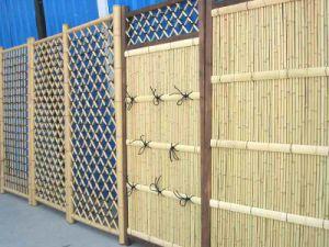 zy179 bamboo garden fence, garden fence panels, backyard fence panel,  european ZYTUOQV