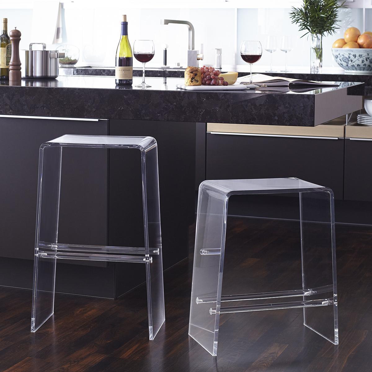 Acrylic Counter Stool - Kitchen Counter Bar Stools | Wisteria