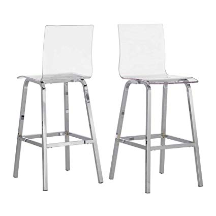 Fantastic Acrylic Bar Stools   for Your Trendy and Modern Home
