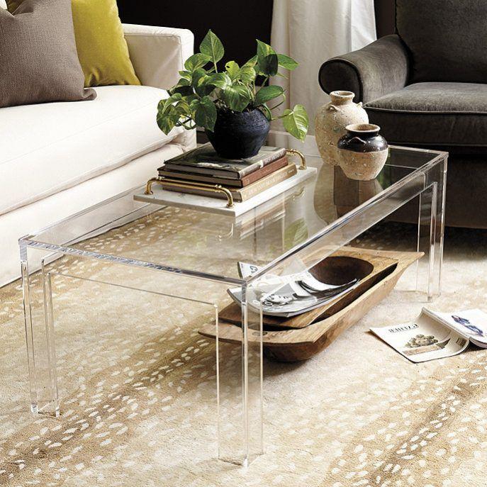 Interior Design:Acrylic Cocktail Tables Acrylic Cocktail Tables