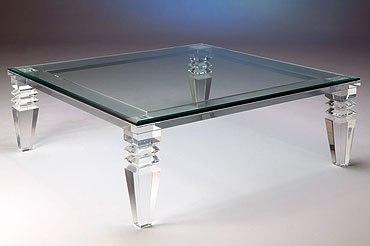 Custom-Cut Clear Acrylic Furniture & More! | Shop Muniz's Products