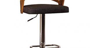 Amazon.com: AC Pacific Modern Wood Back Hydraulic Seat Adjustable