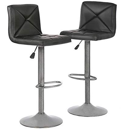 Amazon.com: Bar Stools Barstools Bar Chairs Height Adjustable Modern