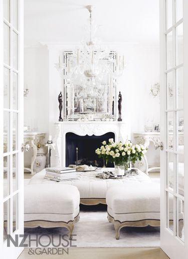 64 White Living Room Ideas   My home   All white room, Living room