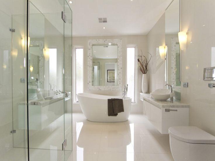 35 Best Modern Bathroom Design Ideas   masterbath   Badrum, Hus, Hem