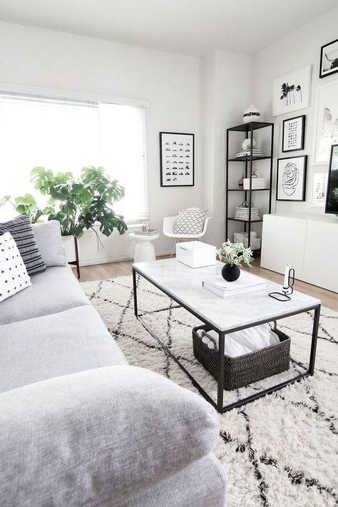 120+ Apartment Decorating Ideas | modern furniture | Living room