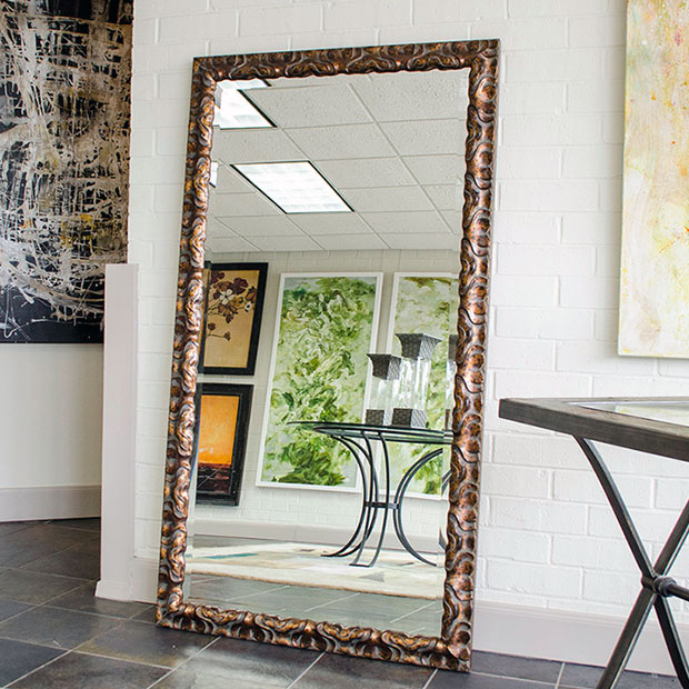 X Floor Mirror MAL Large Decorative Wall Mirrors - Wall Art Paint on