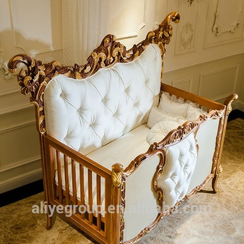 Ak38-solid Germany Beech Wood Baby Cribs - Buy Baby Furniture