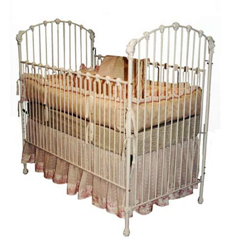 Antique Masterpiece Iron Baby Crib | Iron Baby Cribs Online | aBaby